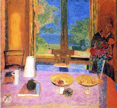 Pierre Bonnard: Dining Room On the Garden