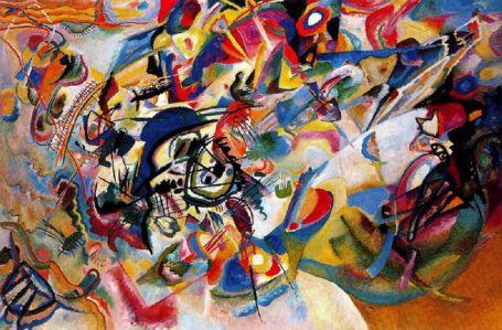 Wassily Kandinsky; Composition VII