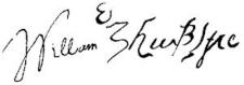 William Shaespeare