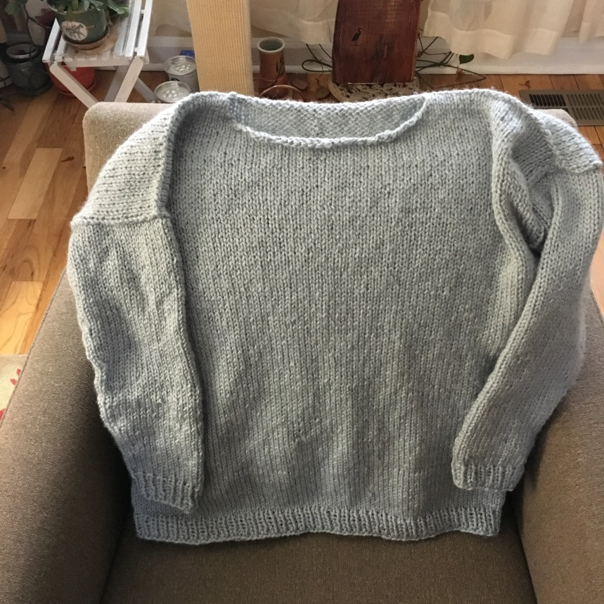Sam's sweater